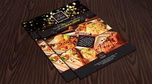 hotel brochure design templates hotel restaurant flyer design template one dollar graphics
