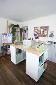 Desk Gorgeous Best 25 Kallax Desk Ideas On Pinterest Bureau Ikea Kallax Bureau
