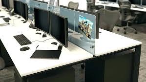 Office Desk Dividers Frosted Glass Desk Sloanesboutique