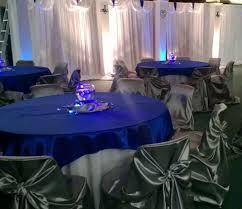 Platinum Wedding Decor Royal Blue And Silver Wedding Decoration Ideas Royal Blue Silver
