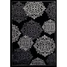 Black Modern Rug Black And White Modern Rugs Roselawnlutheran Nurani
