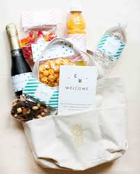 Welcome Baskets For Wedding Guests Your Wedding Guest Etiquette Questions Answered Martha Stewart