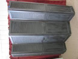 lot detail shutter style room divider