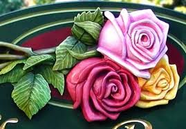 three roses bed and breakfast sign danthonia designs usa