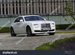 suv rolls royce westhampnett united kingdom august 11 rollsroyce stock photo