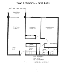 Two Bedroom Floor Plans One Bath 0 1 2 Bedroom Apartments For Rent In Tampa Fl Westshore