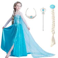 elsa costume 2018 dresses elsa dress princess party dress