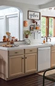 How To Decorate A Kitchen Counter by Fall Vintage Kitchen Decorating Fox Hollow Cottage