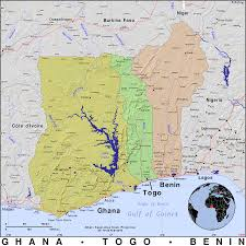 Ghana Africa Map Ghana Togo And Benin Public Domain Maps By Pat The Free Open