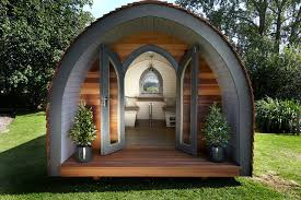 Garden Building Ideas Garden Hideouts Retreat Pod Eclectic Garden Shed And Building