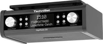 radio de cuisine de cuisine radio encastrable dab technisat digitradio 20 aux noir