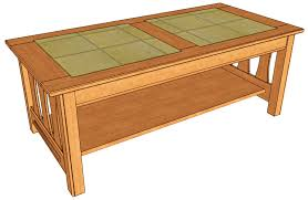 Free Wooden Outdoor Table Plans by Wood Coffee Table Plans Free Video And Photos Madlonsbigbear Com