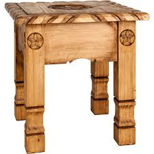 Rustic End Tables Top Rustic End Table