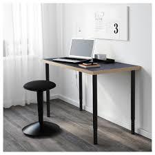 Ikea Adjustable Standing Desk by Olov Leg Adjustable Black Ikea