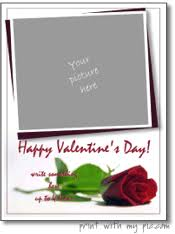 printable valentine u0027s day card templates online card templates to