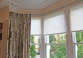 Bay Window Roller Blinds Spring Loaded Roller Blinds For Safety And Functionality Moghul