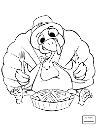coloring pages birds curious turkey colorpages7 com