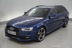 used audi a4 black edition 2012 cars for sale motors co uk