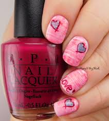 fan brush gradient with opi polishes be happy and buy polish