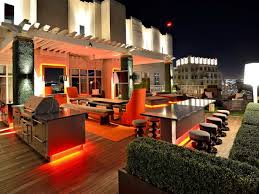 rooftop deck lighting ideas home design ideas