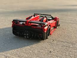future lamborghini veneno lego moc 10559 lamborghini veneno roadster 50th anniversary