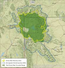 Dma Map Wyoming Game And Fish Department Grizzly Bear Management