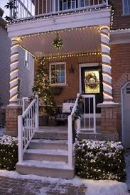 Outdoor Christmas Decorating Ideas Apartment by Holla Hoops With String Lights And Christmas Ornaments Would Be