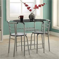 Expandable Dining Tables For Small Spaces Kitchen Pub Dining Table Sets 3 Piece Dinette Set Dining Room