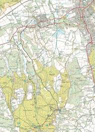 Map Your Run Leith Hill Half Marathon Route