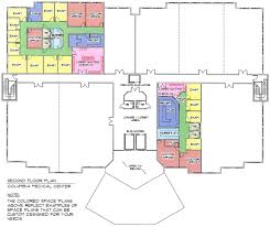 Doctor Office Floor Plan by Columbia Medical Center Kca Design Group Inc