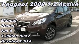 peugeot diesel peugeot 2008 1 2 active 14 manual diesel 82cv km0 garbu motor