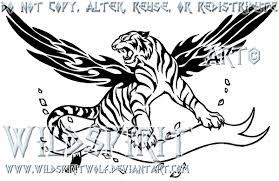 a inside tiger by wildspiritwolf on deviantart