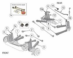 wrangler tj suspension parts years 1997 2006