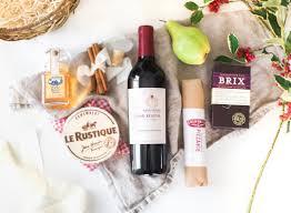 High End Gift Baskets Holiday Gift Basket U0026 Wine Stopper Diy