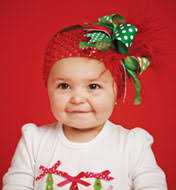 christmas headbands christmas baby headbands or hair bow