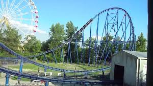 Six Flags Stl Mr Freeze Off Ride Six Flags St Louis Youtube