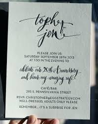 calligraphy invitations modern lettered ensemble wedding invitations letterpress