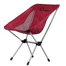 Ultralight Backpacking Chair Folding Camping Chairs With Carrying Bag Compact Ultralight