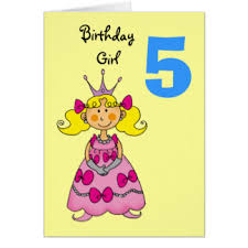 5th birthday party greeting cards zazzle co uk