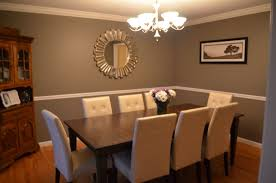 dining room paint ideas with chair rail black paint color base