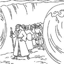 Bible Coloring Pages Moses Moses Coloring Pages Free Printables Momjunction