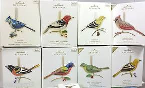 hallmark of birds ornaments collection on ebay
