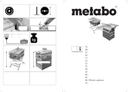 metabo saw pku 250 pdf user u0027s manual free download u0026 preview