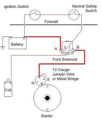 solenoid wiring for ford 640 with 12v 1 wire conversion