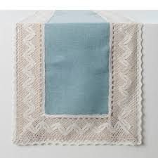 ice blue table runner buy blue table runners from bed bath beyond