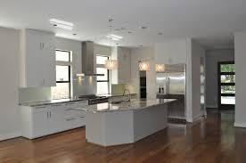 Handscraped Laminate Wood Flooring Kitchen Flooring Walnut Hardwood Brown Kitchens With Floors Light