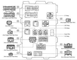 2004 toyota corolla electrical wiring diagram wiring diagram and