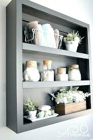 Decorate Bathroom Shelves Bathroom Shelf Ideas Diy Bancdebinaries