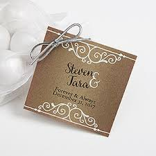 wedding tags for favors personalized wedding favor gift tags rustic chic