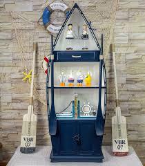 Marine Storage Cabinets Mediterranean Bookcase Wooden Boat Storage Cabinets Lockers
